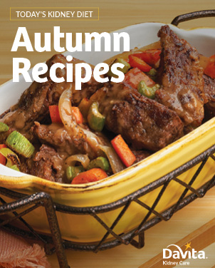 Today's Kidney Diet Autumn Recipes